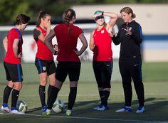 WNT Trains Ahead Final Olympic Games Send-Off Match Against Costa Rica - U.S. Soccer
