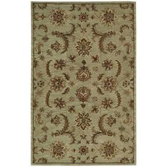 Nourison India House Area Rug, Green