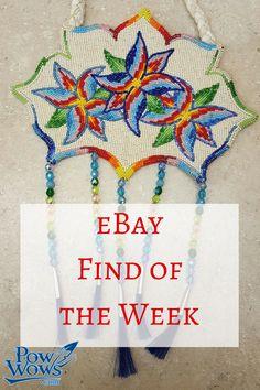 f8a384161f NICE HAND CRAFTED GEOMETRIC DESIGN CUT BEADED ROSETTES BUCKSKIN PURSE/BAG - eBay  find of the week
