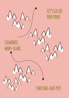 Just Bo Mountains Poster Powder Pink available in our shop www.studiobandit.com