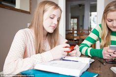 Almost a quarter of families  who bring tech to the table are prevented from having proper...