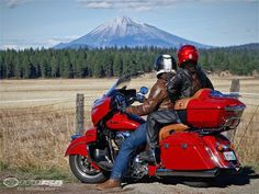 Motorcycle USA is letting you see what a passenger has to say about riding the 2015 Indian Roadmaster.