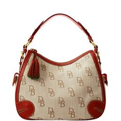 Specials Of The Month Florentine Jacquard Side Pocket Hobo Find This Pin And More On Dooney Bourke Handbags