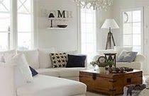 Cozy white livingroom