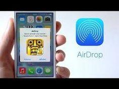 شرح  AirDrop في الايفون و الايبود و الايباد