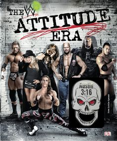 Buy WWE The Attitude Era by Jon Robinson at Mighty Ape NZ. Get up close and personal with WWE's Attitude Era, includes exclusive Stone Cold Steve Austin skull bottle opener Find out everything you ever want. Wrestling Memes, Wrestling Posters, Wrestling Superstars, Wwe Events, Attitude Era, Divas, Wwe Raw And Smackdown, Undertaker Wwe, Wwe Pictures