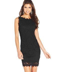 1cf8f2208d NWOT Jump Apparel Black EyelashLace Sleeveless Dress Size 7 8 Never Worn!   fashion