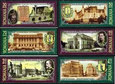 Old stamps Old Stamps, Little Paris, Bucharest, Big Ben, The Past, Letters, Writing, Blog, Travel