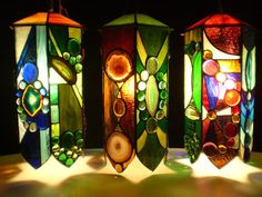 shop owner: Woodlandstainedglass via etsy - SixStrongHands