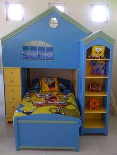 Spongebob Bedrooms #6 | Sponge Bob Toddler Beds | Toddler-bunk ...