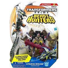 Transformers Prime Beast Hunters Deluxe Class Decepticon Starscream