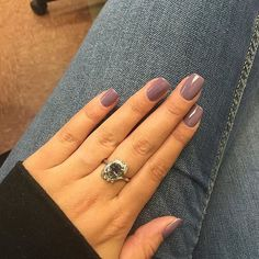 Love this set using Dusty Plum Gel Polish by @nailsbydesi_willowplace