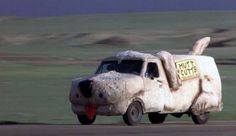 The Shaggin' Wagon from Dumb and Dumber - 1984 Customized Ford  Econoline
