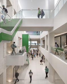 For @UNT their existing @UNTUnion needed an expansion and heavy renovation to rejuvenate student life on campus. A previously dark and confusing structure was made light with a mutli-story atrium new entrances and new interior way-finding. Pic: Raul J. Garcia  #architecture #design #highereducation #university #studentunion #texas #perkinswill_projects by perkinswill #instashare #sharingiscaring #love #theirsuccessisoursuccess