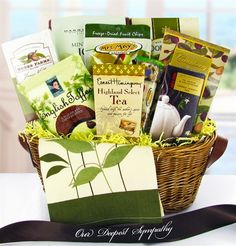 A great source of personalized gifts, gift baskets and other gift ideas for birthdays, corporate gifts, wedding gifts, get well gifts and other personalized gift ideas. Sympathy Gift Baskets, Sympathy Gifts, Toffee Cookies, Bereavement Gift, Remembrance Gifts, Get Well Gifts, Snack Recipes, Snacks, Gourmet Gifts