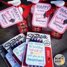 Back to School Teacher Gifts #teachergifts