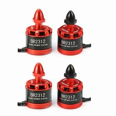4X Racerstar Racing Edition 2312 BR2312 960KV 2-4S Brushless Motor For 350 380 400 RC Drone