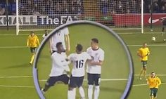 Ravel Morrison and Wilfried Zaha had to be separated after fighting during the England Under-21s game with Lithuania.