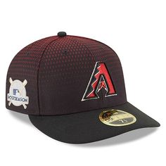 Arizona Diamondbacks New Era 2017 Postseason Game Side Patch Low Profile  59FIFTY Fitted Hat Black   414e29d1f427