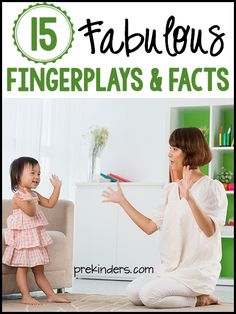 Today, I'm joining Teach Preschooland Pre-K Pagesto bring you 15 Fabulous Fingerplays and Facts. Here at PreKinders, I am sharing 5 fingerplays and 5 facts about the skills children learn through fingerplays. Be sure to go to Teach Preschool and Pre-K Pages to see the rest! Fingerplay Fact #1: Building Vocabulary Fingerplays introduce children to …