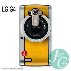 silver yelow leica camera Phone case for LG G4