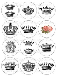 Crown Tattoo Ideas.
