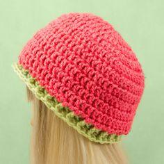 6 - 12 Months Basic Beanie Crochet Pattern via Hopeful Honey