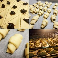 Cornulete cu gem - Retete culinare by Teo's Kitchen Deserts, Cookies, Cake, Food, Sweets, Crack Crackers, Postres, Pie, Biscuits