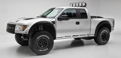 Incredible Jimco Pre-Runner - basically a 700+ HP trophy truck with huge wheel travel disguised as a Ford Raptor!