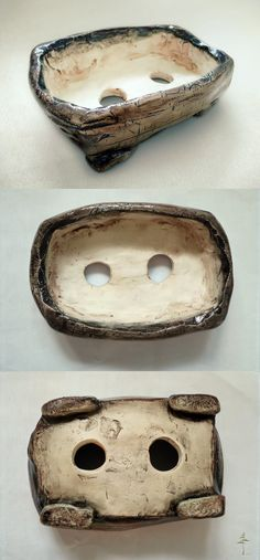 My first bonsai pot by ~janahobo