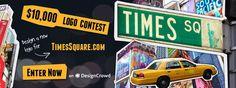 Concurso con un premio de 10000 dólares al diseñador de un nuevo logo para TimeSquare.com