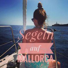 Unser Segelausflug auf Mallorca. Segeln. Westküste. Palma.