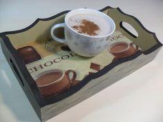 Bandeja colonial Chocolate