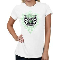 The Game Danica Patrick Hot Rod T-Shirt - White - $12.99
