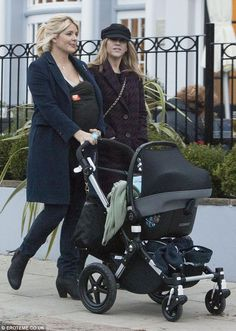 Holly Willoughby and het Bugaboo Cameleon 3 #BugabooLovers