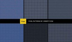 Photoshop patterns are images either repeated or tiled and can be used to fill a backgroun layer or a selection.So patterns are great alternatives especially for background textures.You know Photoshop comes with a very limited set of patterns so having a huge pattern collection is a must for all designers.    In today's freebie we have collected pixel based repeatable Photoshop patterns.The patterns are all in .PAT format.