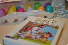 12 Days of activities & Bible stories leading up to Easter.  I like this way better than the resurrection eggs I've seen so far--it's more substantive and less contrived, and walks your kid through the story of Jesus leading up to Easter in a really cool way.