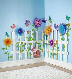 Plot s kvetinami