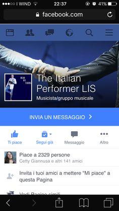 Follow Facebook The ITALIAN performer LIS