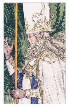 Tactics Ogre - Tarot Card V - The Hierophant