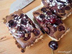 Krucha tarta czekoladowa z czereśniami Billa Grangera / Bill Granger's Chocolate Cherry Tart