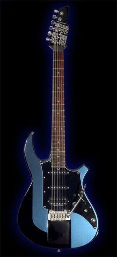 James Tyler Guitars Ultimate Weapon HD Blue Pearl Top