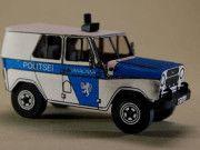 Police Estonia UAZ-469 SUV Free Vehicle Paper Model Download