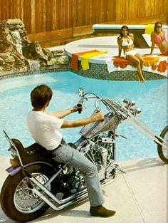 1970s harley chopper