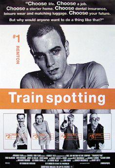 Train Spotting * Disturbing to watch, but well done weirdness *