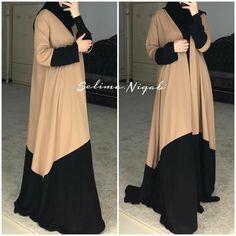 Batik Fashion, Abaya Fashion, Muslim Fashion, Burqa Designs, African Fashion Dresses, Fashion Outfits, Modele Hijab, Color Style, Amazon Dresses