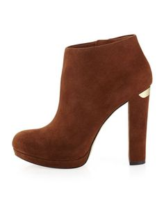 MICHAEL Michael Kors  Haven Bootie. I just bought the black ones at Dillard's ! Fabulous.