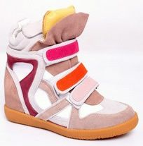 Isabel Marant Sneaker Bekket High-top Suede Rose Jaune €153.90