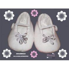 Zapato BIANCA, hecho a mano y para bebé