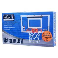 Spalding NBA Slam Jam Over-The-Door Team Edition Basketball Hoop Basketball  Scoreboard 54dbac9f12